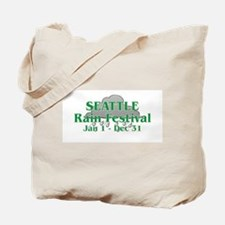 Seattle Rain Festival Tote Bag