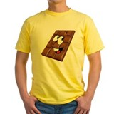 Emoji Mens Yellow T-shirts