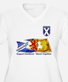 Stand Together Tartan Army Plus Size T-Shirt