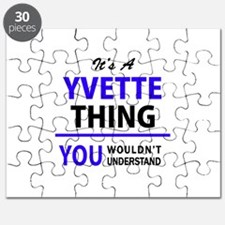 YVETTE thing, you wouldn't understand! Puzzle