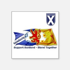 stand together ta badge Sticker