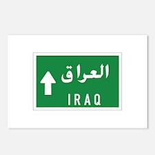 Iraq roadmarker, Iraq Postcards (Package of 8)