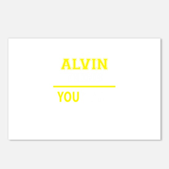 ALVIN thing, you wouldn't Postcards (Package of 8)