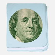 Benjamin Franklin baby blanket