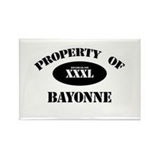 Property of Bayonne Rectangle Magnet