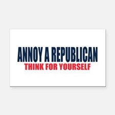 Annoy a Republican Rectangle Car Magnet
