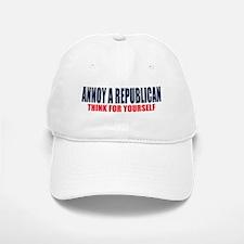 Annoy a Republican Baseball Baseball Baseball Cap