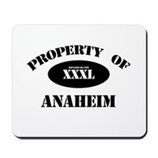 Property of Anaheim Mousepad