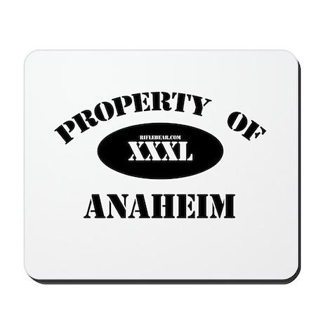 Property of Anaheim Mousepad