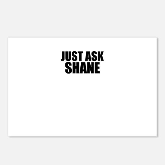 Just ask SHANE Postcards (Package of 8)