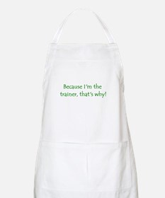 Because BBQ Apron