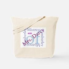 bennetgirls Mistress of Pemberley two sided Bag