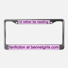Jane Austen Bennetgirls License Plate Frame