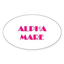 Alpha Mare Oval Decal