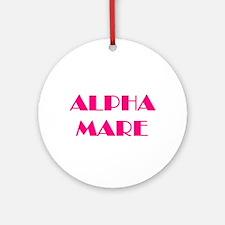Alpha Mare Ornament (Round)