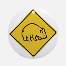 Wombats Crossing, Australia Ornament (Round)