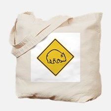 Wombats Crossing, Australia Tote Bag