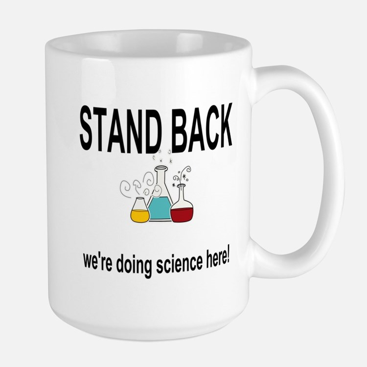 doing science here! Mugs
