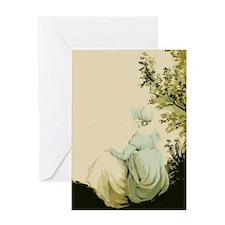 Bennetgirls Jane Austen Greeting Card