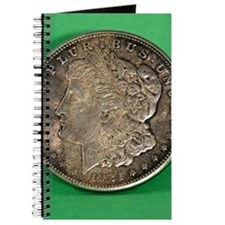 Unique Morgan silver dollar Journal