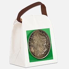 Unique Coin Canvas Lunch Bag