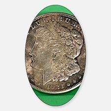 Funny Morgan dollar Decal