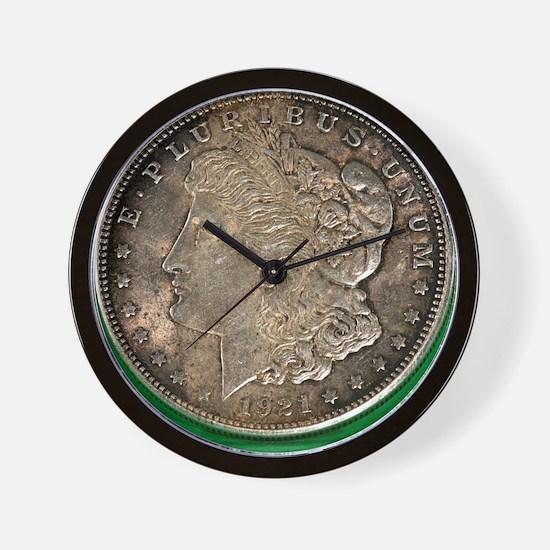 Unique Coin collectors Wall Clock