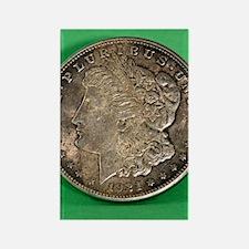 Cute Morgan silver dollar Rectangle Magnet