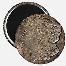 Funny Morgan silver dollar Magnet