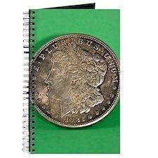 Cute Morgan silver dollar Journal
