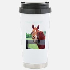 Cute Horse kentucky Travel Mug