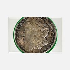Morgan Silver Dollar Magnets