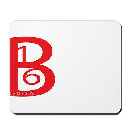 B16 Pope Mousepad