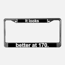"""""""170."""" License Plate Frame"""
