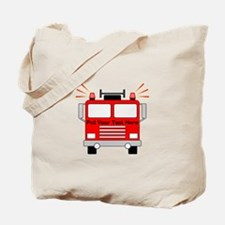 Personalized Fire Truck Tote Bag