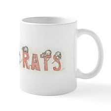I LOVE RATS Small Mug
