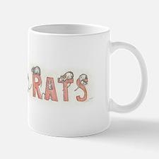 I LOVE RATS Small Small Mug