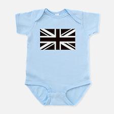 black union jack british flag Body Suit