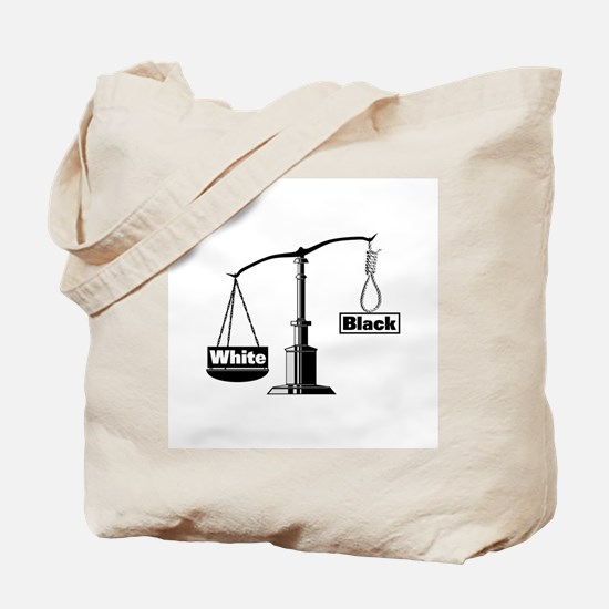 Racist Justice System Tote Bag