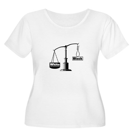 Racist Justice System Women's Plus Size Scoop Neck