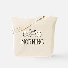 Bicycle Good Morning Tote Bag