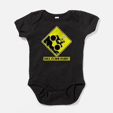 Funny Hill climb Baby Bodysuit