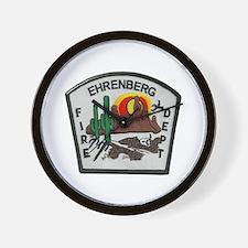 Ehrenberg Fire Department Wall Clock