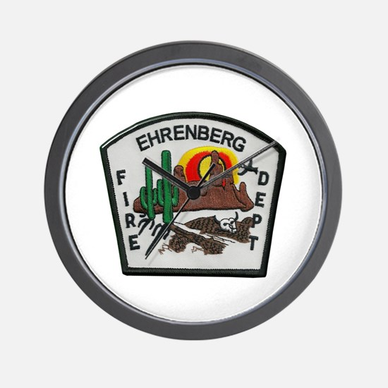 Ehrenberg Fire Department Wall Clock