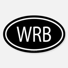 WRB Oval Decal