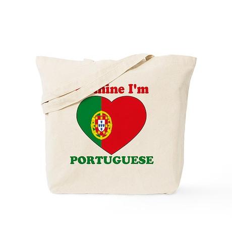 Be Mine I'm Portuguese Tote Bag