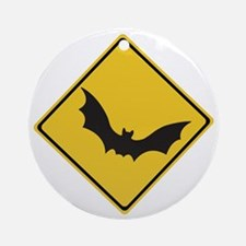 Beware of Flying Foxes, Australia Ornament (Round)