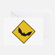 Beware of Flying Foxes, Australia Greeting Cards (