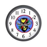 Uss waldron Wall Clocks