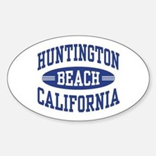 Huntington Beach CA Decal